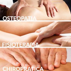 Osteopatia, fisioterapia e chiropratica