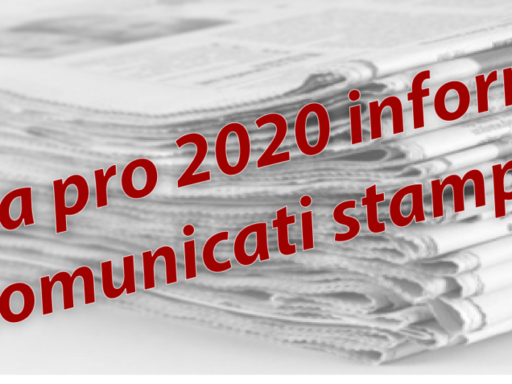 Area Pro 2020 informa