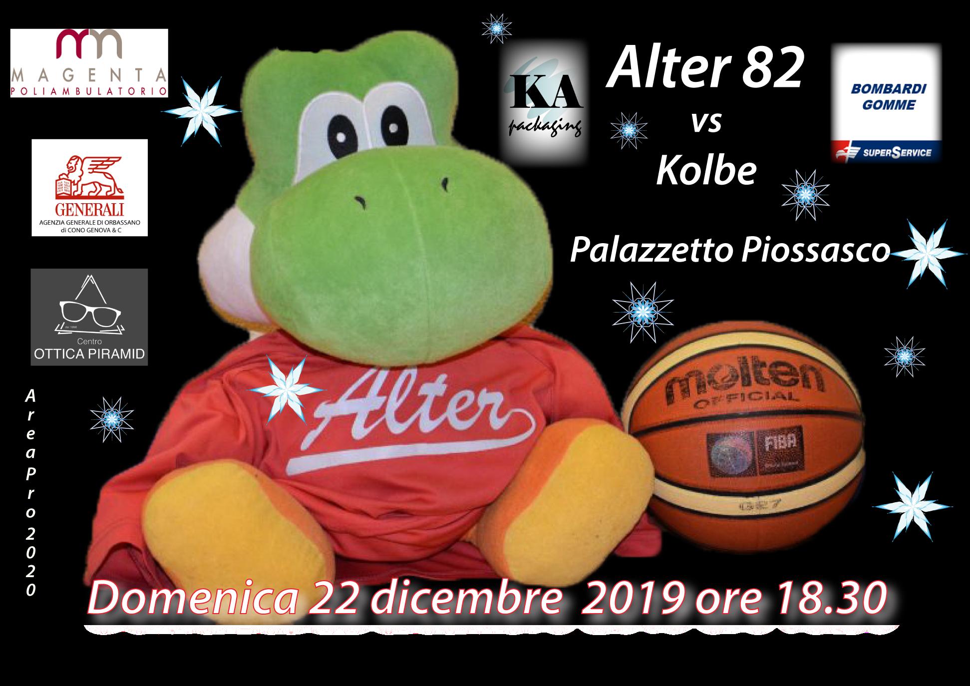 Serie C: Alter ospita Kolbe Torino, Serie D Atlavir trasferta a Nichelino