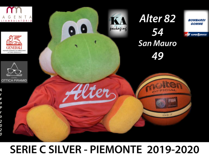 Alter supera San Mauro: 54-49