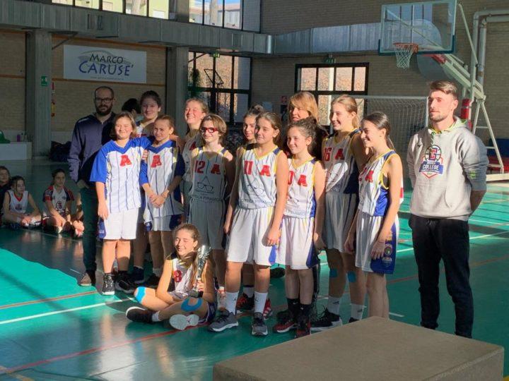 Under 13 fem: ottica Piramid Area pro 2020, vince torneo della befana di Cuneo
