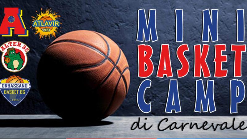 RINVIATO:MiniBasket Camp dal 24-26 febbraio 2020 a Piossasco