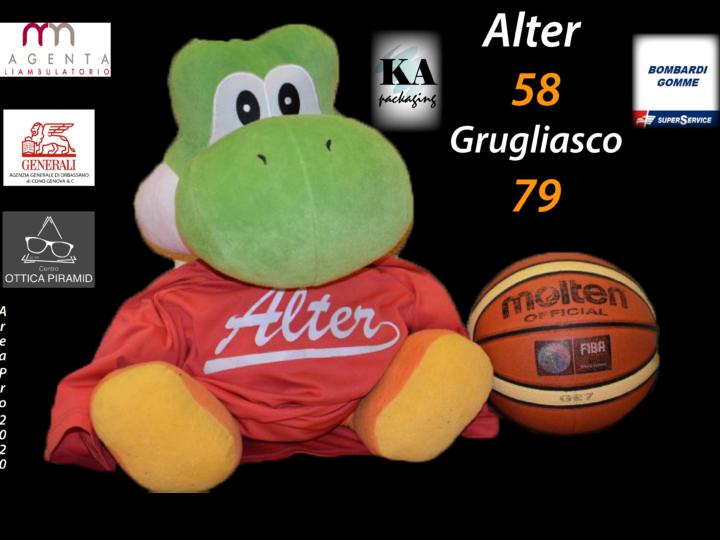 Serie C: Alter-Grugliasco 58-79. Serie D Atlavir-Mondovì 72-42