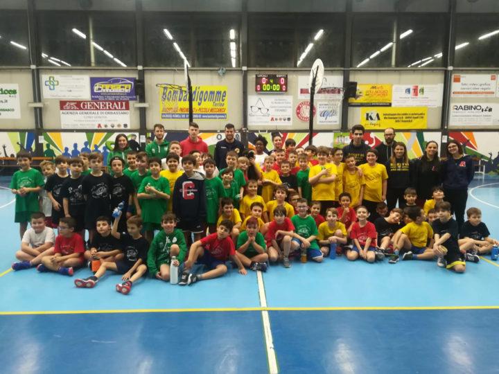 Minibasket: Successo dello Space Tour a Piossasco
