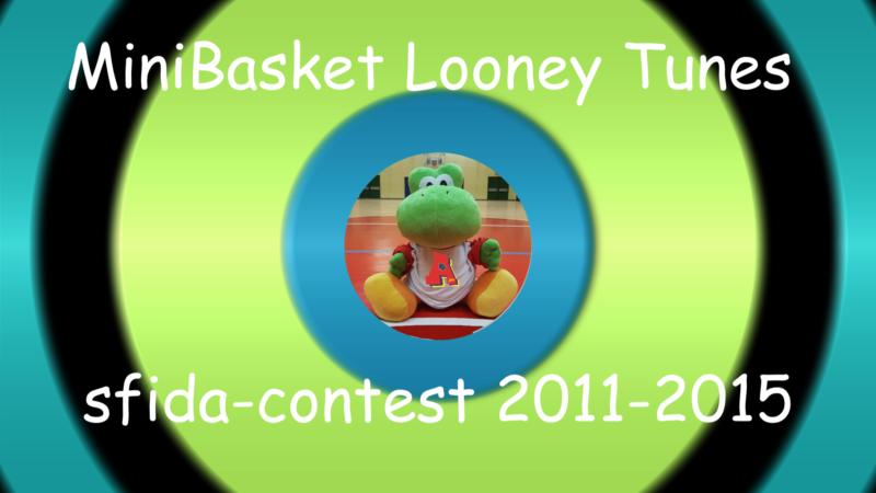 Minibasket Looney Tunes 2011-2015: Contest..parte la sfida a distanza con gli istruttori!