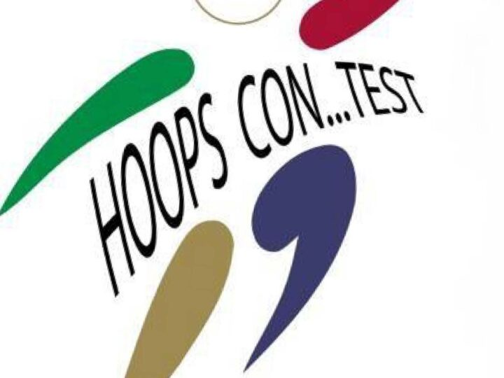 "HOOPS CONTEST ""NO CONTACT GAME"" di Bruno Boero. Un gioco/trofeo dopo la pausa."