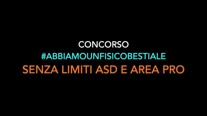 #abbiamounfisicobestiale:  Ecco il video finale del concorso: grazie a tutti per aver partecipato.. siete UNICI!!