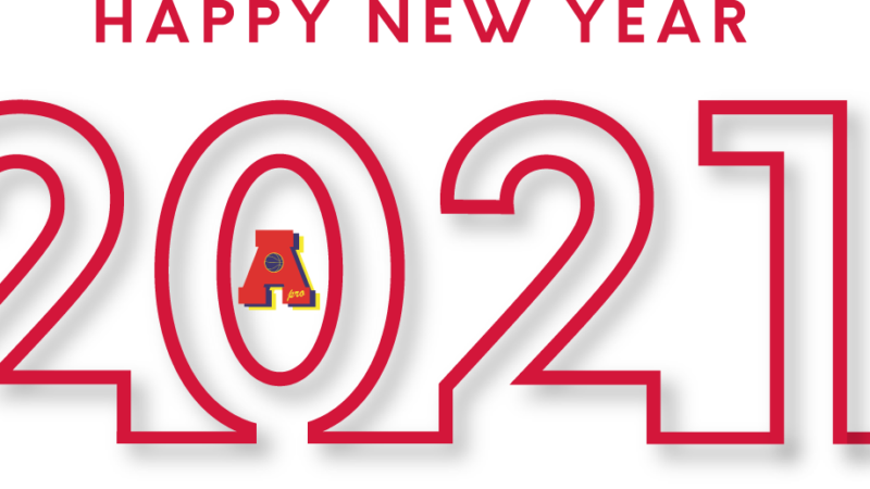 Addio 2020 e benvenuto 2021!