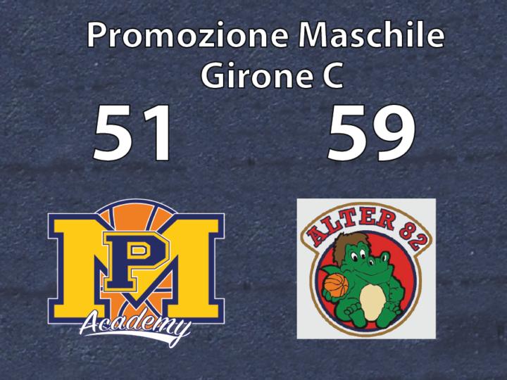 Promozione Maschile: Alter'82 vince contro Pall. Moncalieri