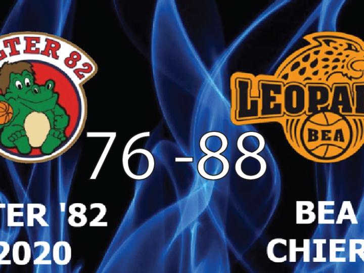 Promozione M: Alter'82-Bea Chieri 76-88