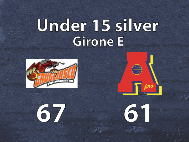Under 15 silver: Grugliasco – Area Pro 2020 67-61