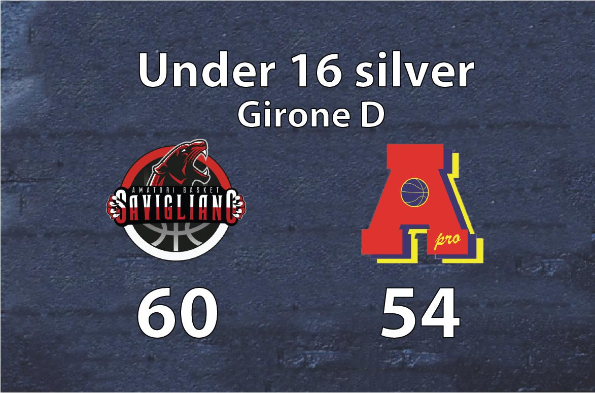 Under 16 silver: a Savigliano vince la voglia di giocare.