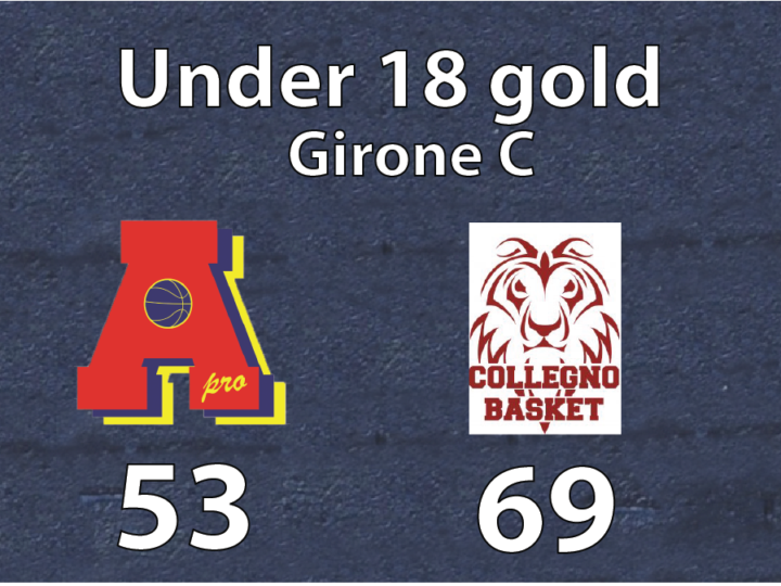 under 18 gold: Area Pro-Collegno 53-69