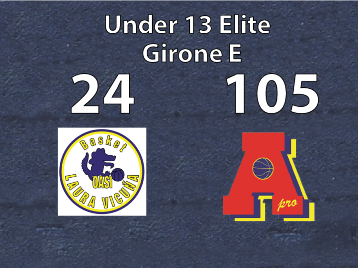 Under 13 Elite: Area Pro 2020-OASI 24-105
