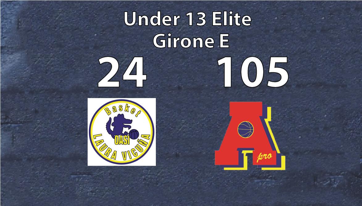 Under 13 Elite: Area Pro 2020-OASI 24-105