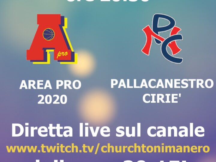 Under 18 gold: Area Pro 2020 vs Ciriè