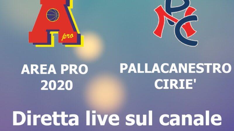 Under 18 gold: Area Pro 2020 vs Ciriè