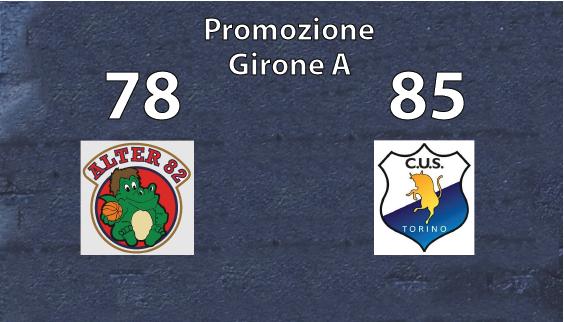 Promozione Maschile: Il Cus Torino passa a Piossasco
