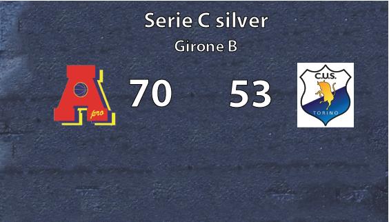 Serie C Area Pro 2020 vittoria contro il Cus Torino = matematico spareggio per la promozione in C Gold!