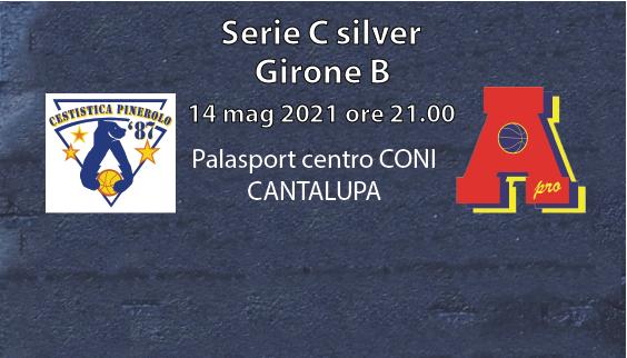 serie C Area Pro 2020 contro Pinerolo a Cantalupa