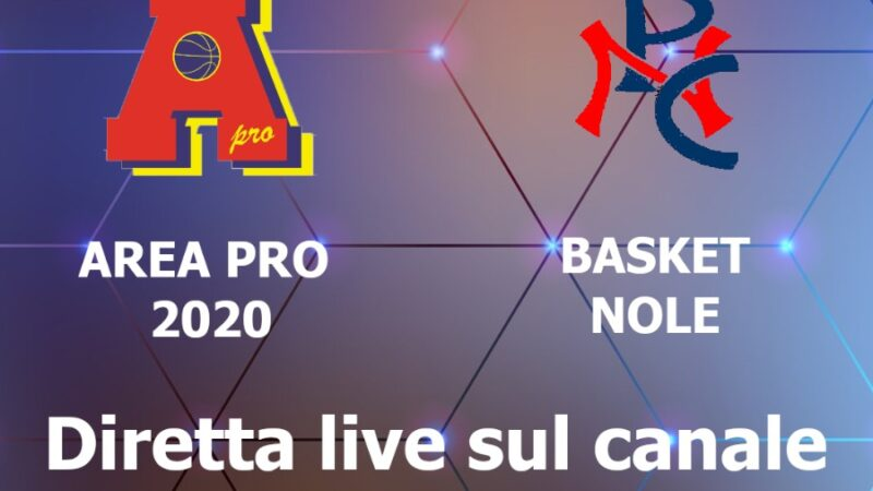 Basket Femminile Area Pro 2020: Giovedì 6 maggio 2021 Inizia torneo Open…forza ragazze!