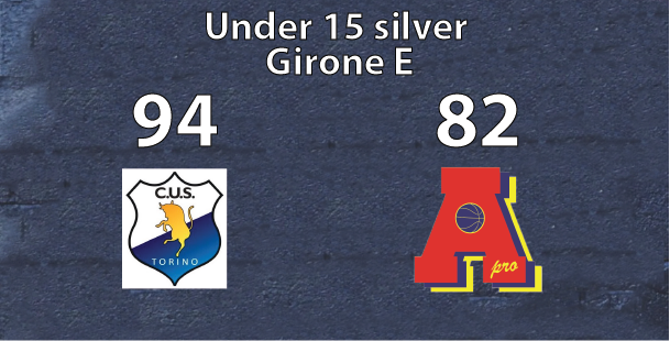 under 15 silver: Cus Torino supera Area Pro 2020