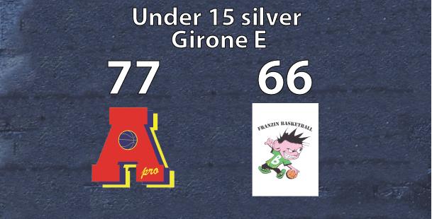 Under 15 silver: Area Pro 2020 supera Franzin ValNoce Iscot