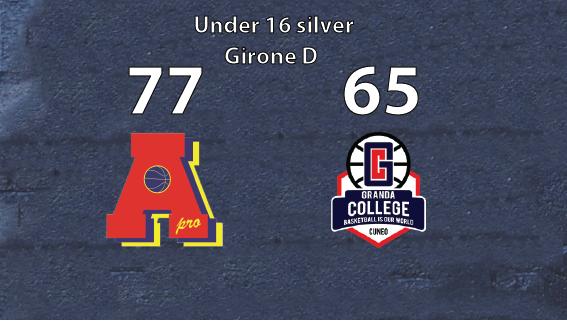 Under 16 silver: la prima di Area Pro 2020 con Cuneo