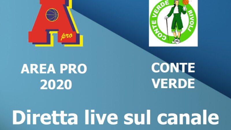 Under 16  Gold: venerdì  7 maggio 2021, Area Pro 2020 vs Conte Verde.