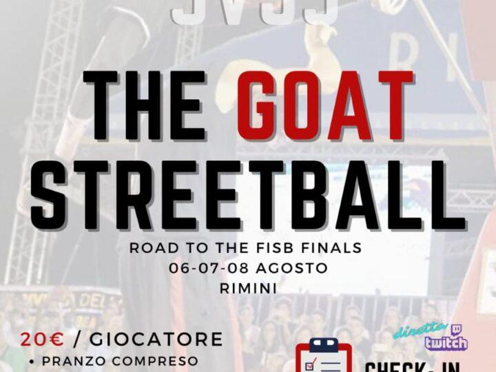 3vs3 a Rivalta : The Goat Streetball