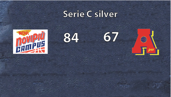 Serie C:  AreaPro2020 perde con Novipiù  Campus.