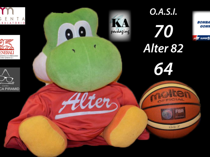 Serie C Silver: Alter perde con OASI