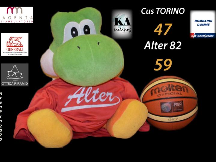 serie C silver: Alter supera il Cus Torino