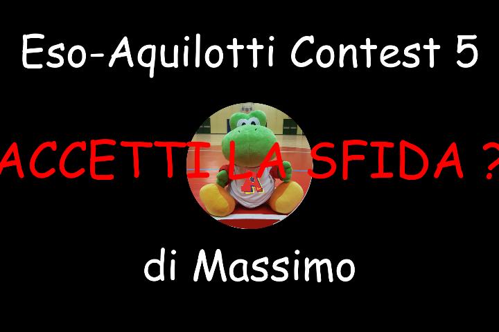 Sfida Esordienti e Aquilotti: il Contest-Sfida di Massimo… nella pagina tutte le vostre risposte!!