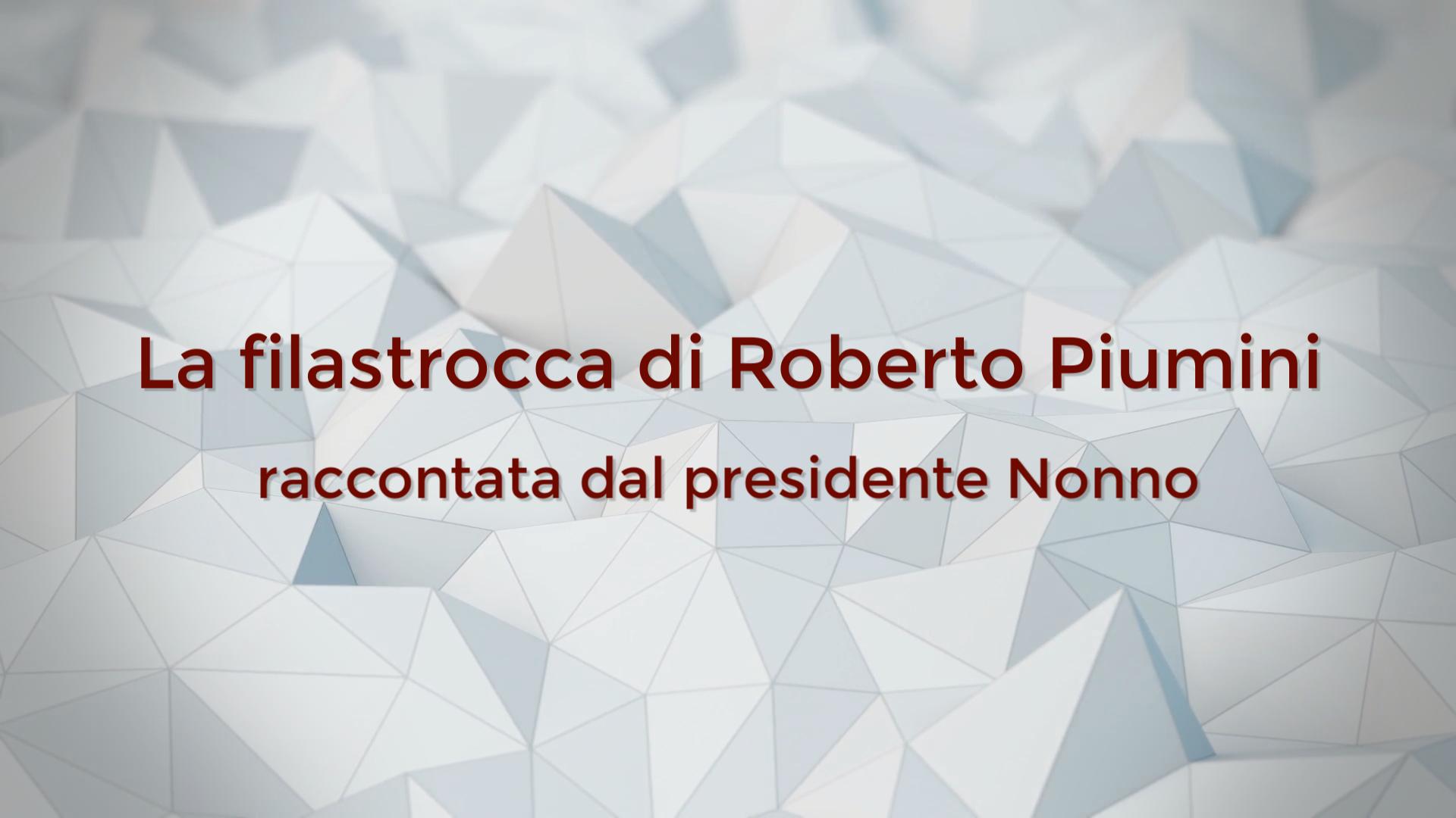 """Il Presidente Nonno racconta ai più piccoli: """"la filastrocca del Virus con la corona"""" di  Roberto Piumini"""