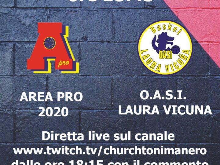 C silver AreaPro2020-OASI Laura Vicuna  domenica 28 marzo 2021 Palasport Piossasco. Diretta video