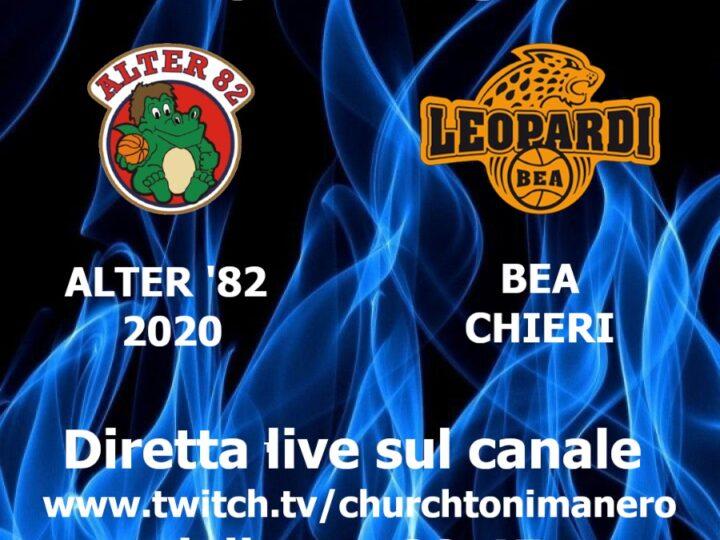 Promozione maschile Alter'82 – BEA Chieri in diretta churchtonimanero ven 16 apr 2021.