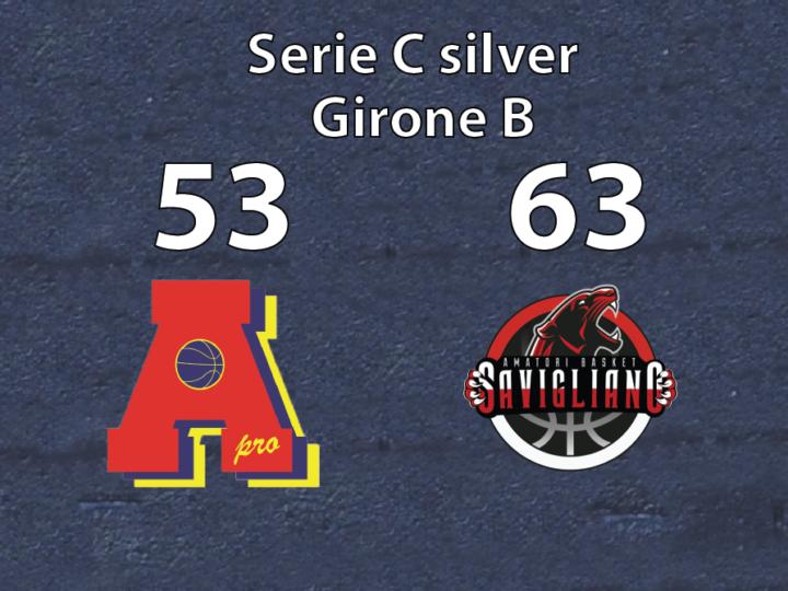 serie C: Savigliano vince con Area Pro 2020.