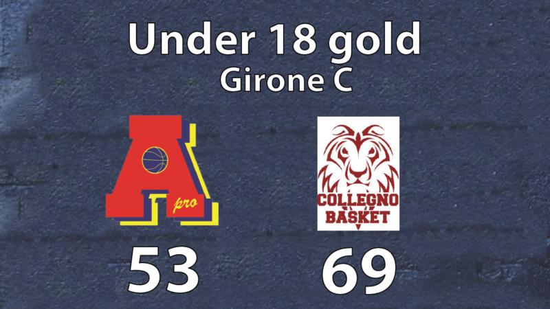 under 18 gold: Area Pro-Collegno 53-69