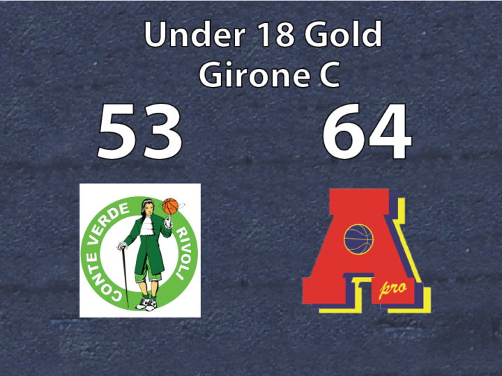 Under 18 Gold: Area Pro 2020 supera  Il Conte Verde