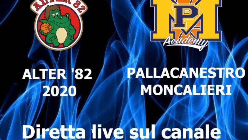 Promozione maschile: Alter82  incontra PMS Moncalieri.