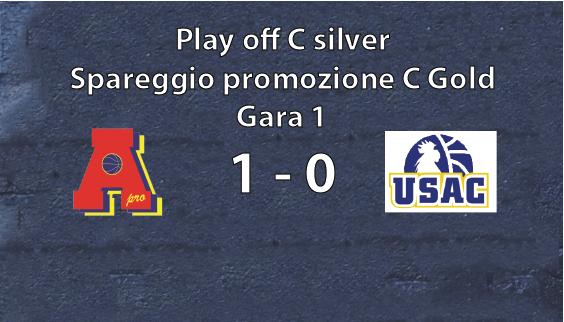 Serie C playoff gara 1: AreaPro2020-Rivarolo  1-0