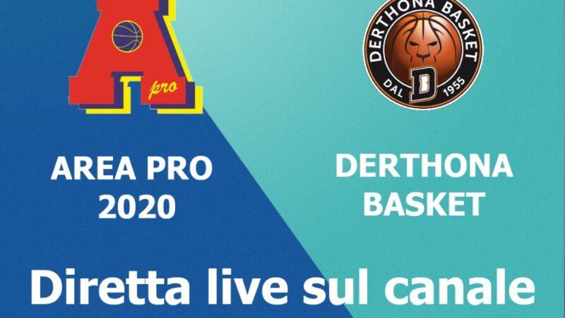 Finale under 15 silver, AreaPro2020 vs Derthona venerdì 2 luglio 2021 al Palasangone di Rivalta