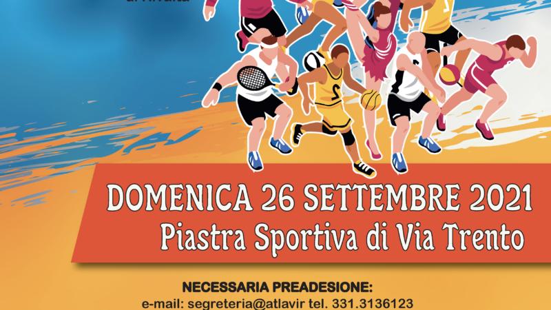 Festa dello Sport a Rivalta: Camminata e attività sportiva per i più piccoli.