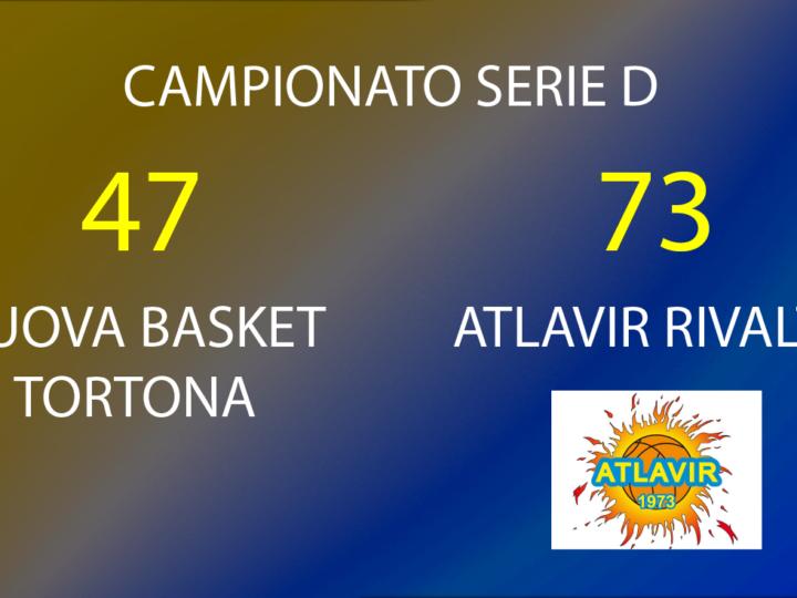 Serie D: Atlavir vince con Nuova Tortona